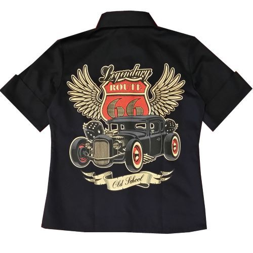Route 66 Work shirt - Black