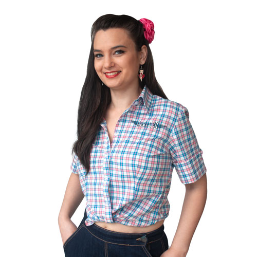 Plaid Workshirt - Blue