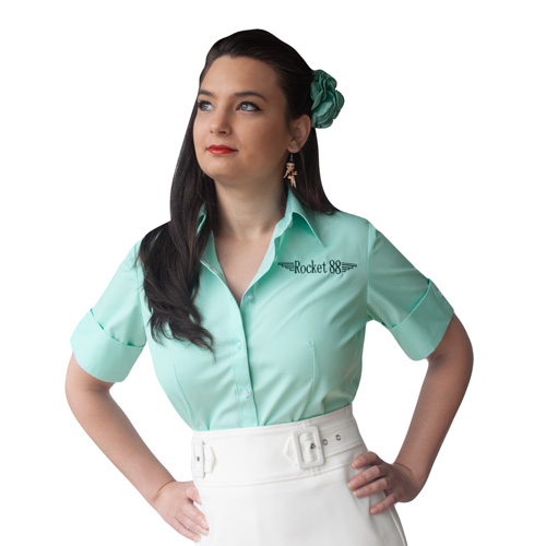 Pastel Workshirt - Teale