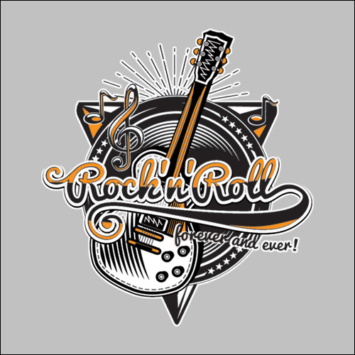 Rock'n'Roll Workshirt - Grey