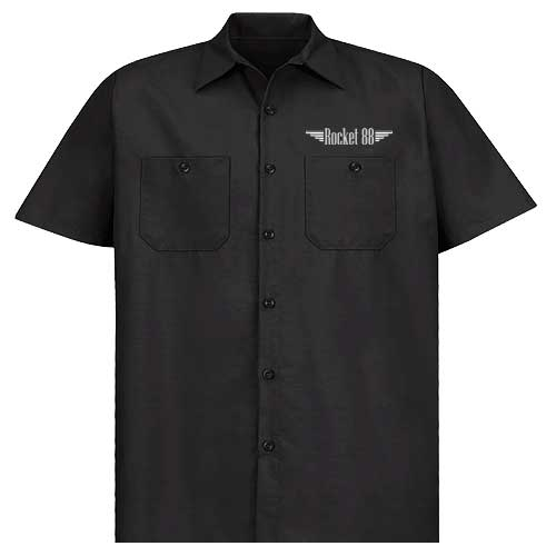 Hot Rod Garage Work shirt - Black
