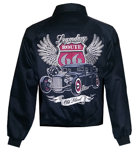 Route 66 Embroidered Jacket